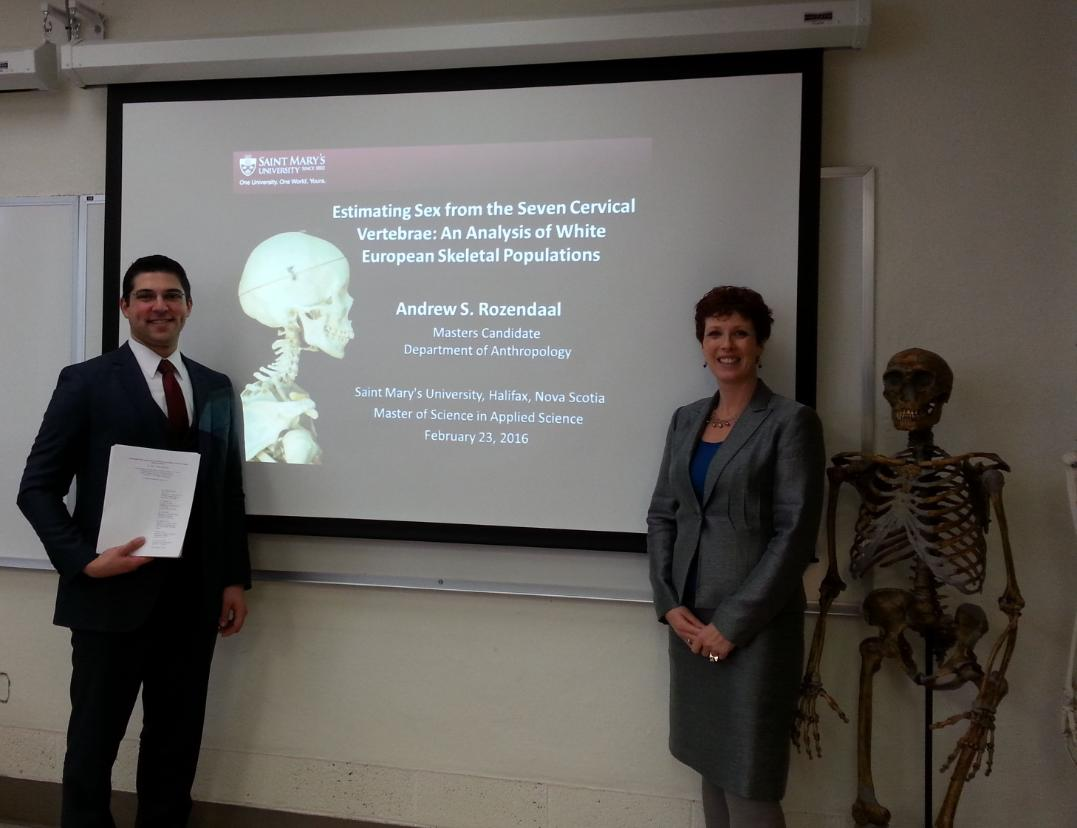 Andrew Rozendaal thesis defense