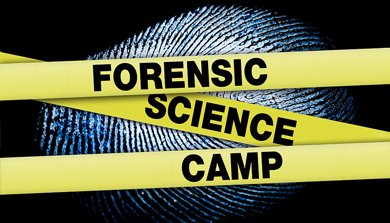 Forensic Science Camp banner
