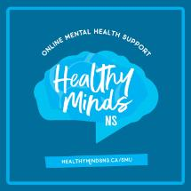 Healthy Minds NS SMU Logo