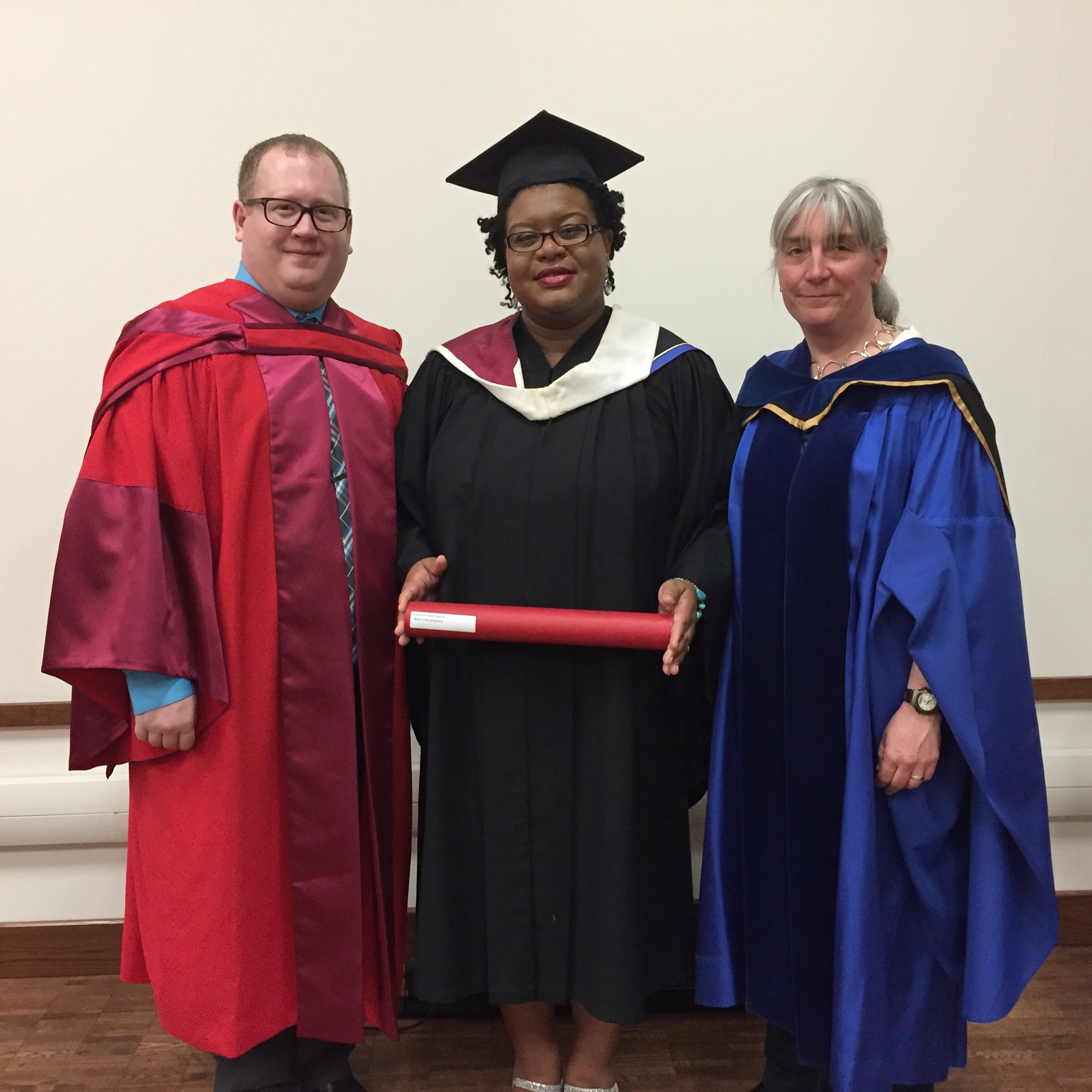 Student Jodi-Ann Francis Convocation May 2017 valedictorian