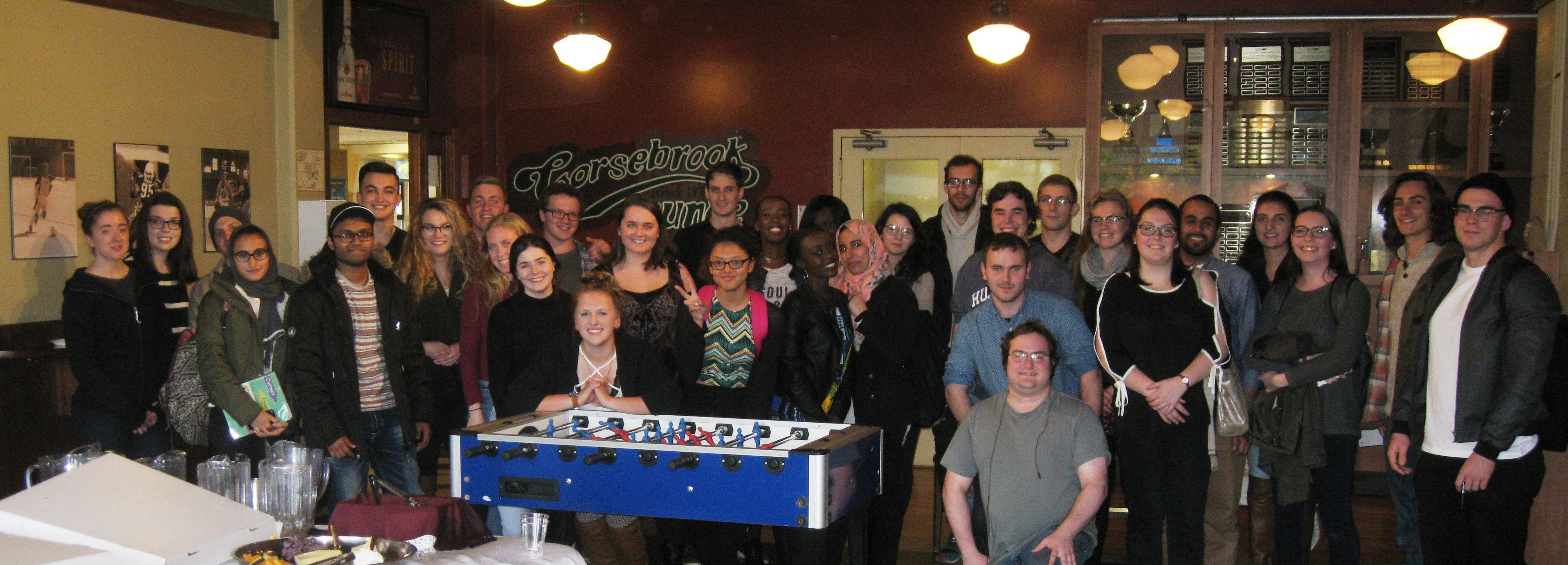 Discussion - Political Science Social - Gorsebrook Lounge - Oct 27 2016