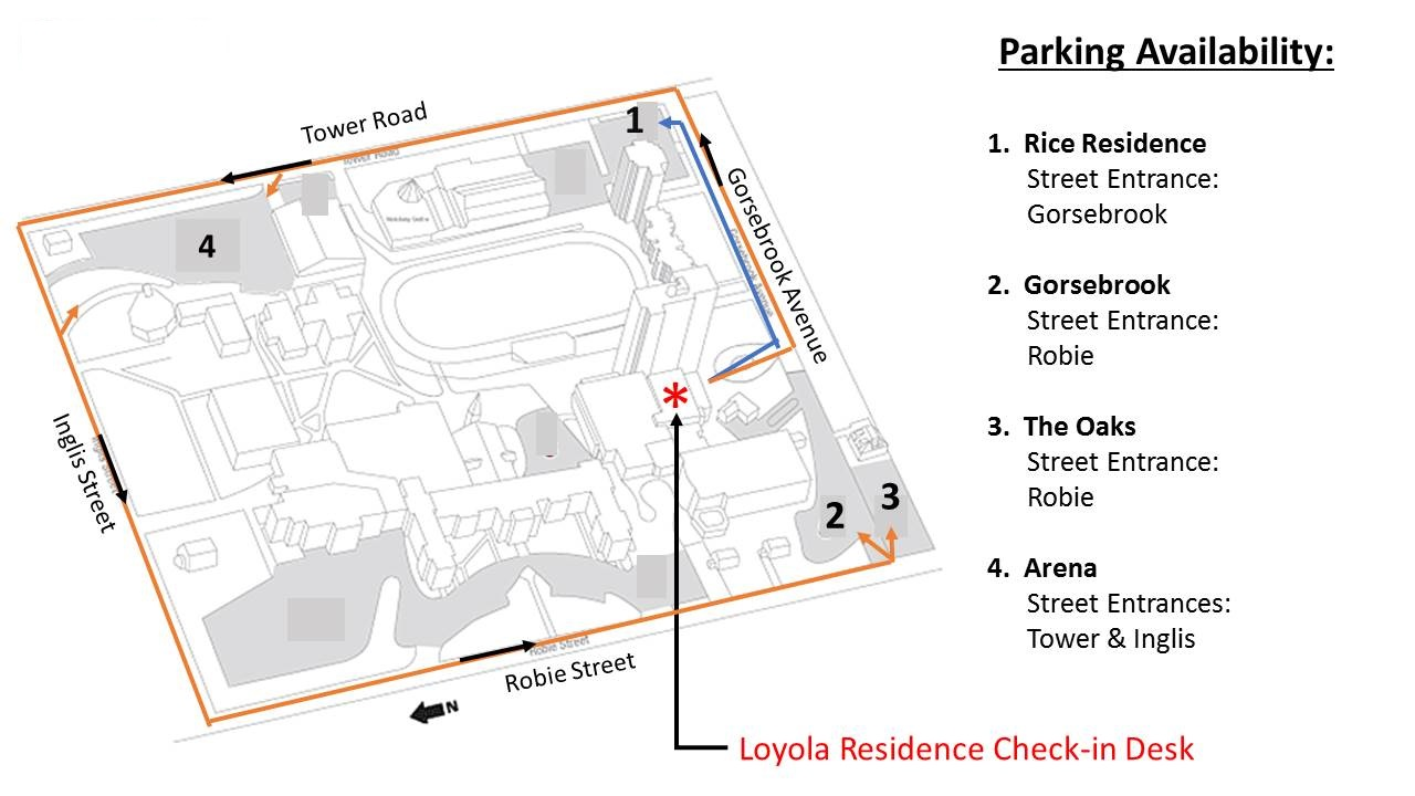 SMU Parking Map