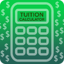 Button for tuition calculator links