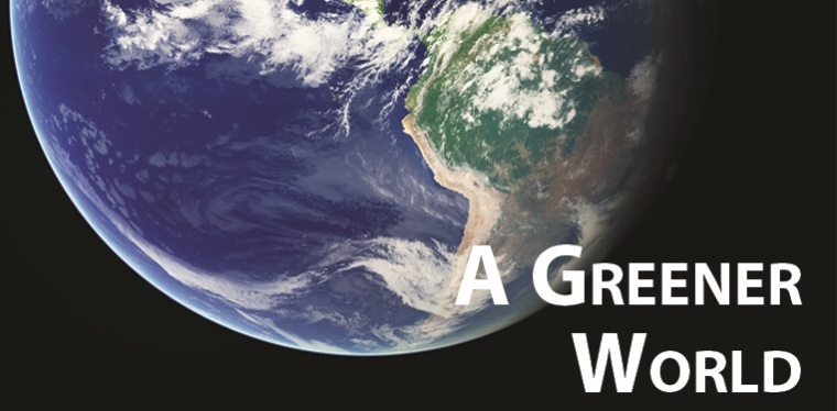 Greener World banner