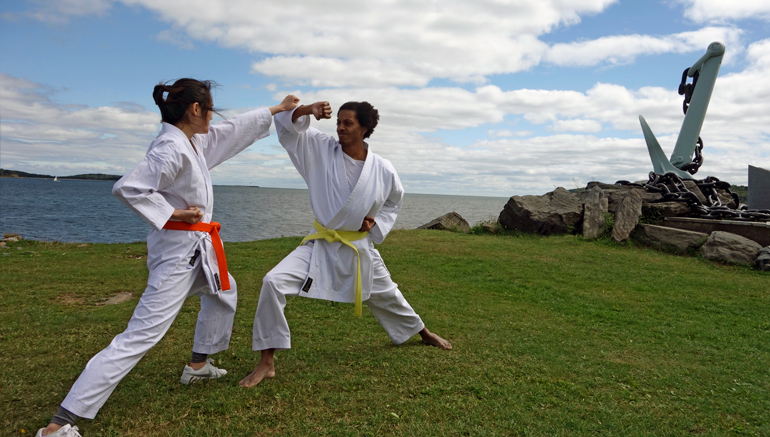 Karate at Point Pleasant Park 2