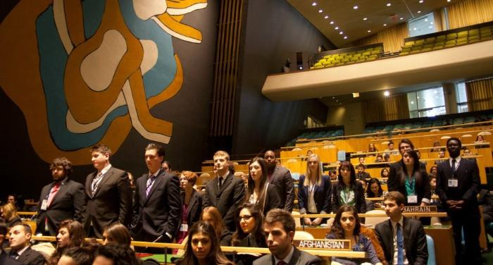 Awards Ceremony at the 2013 Model UN in New York